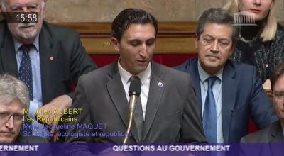 Question au gouvernement : fermeture de la maternité d'Apt