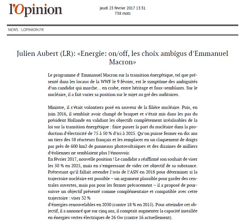 tribune l'opinion1